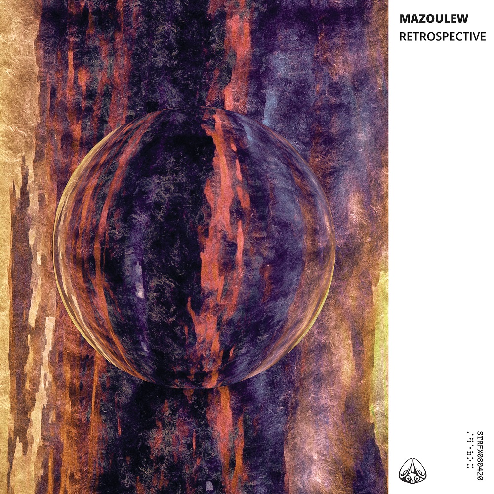 artwork mazoulew retrospective label