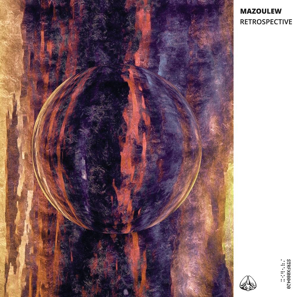 artwork mazoulew retrospective label